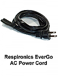 Respironics Evergo AC Power Cord