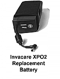 Invacare XPO2 Portable Oxygen Concentrator Replacement Battery