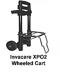Invacare XPO2 Portable Oxygen Concentrator Wheeled Cart